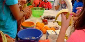 Curso de cocina para niños en la provincia de Segovia