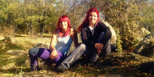 Lorena Fernández Masedo y Elena García García (Echando Raíces)