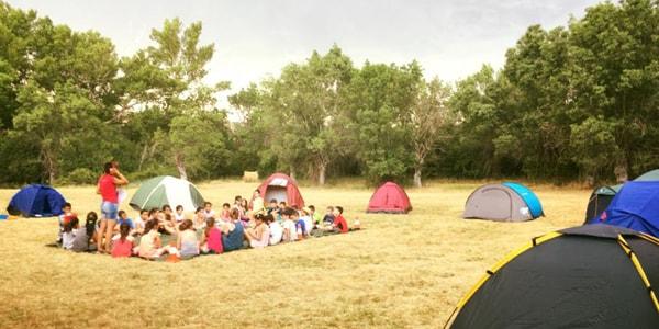 Acampadas y campamentos infantiles en Segovia