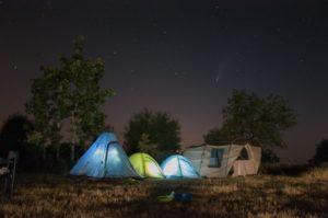 Campamentos en la naturaleza en Segovia