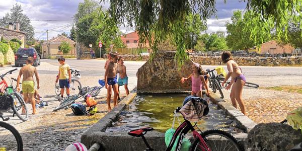 Campamentos rurales en Segovia
