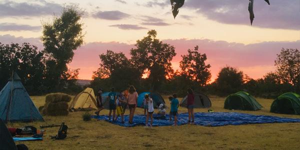 Campamentos de verano en la naturaleza (Segovia)